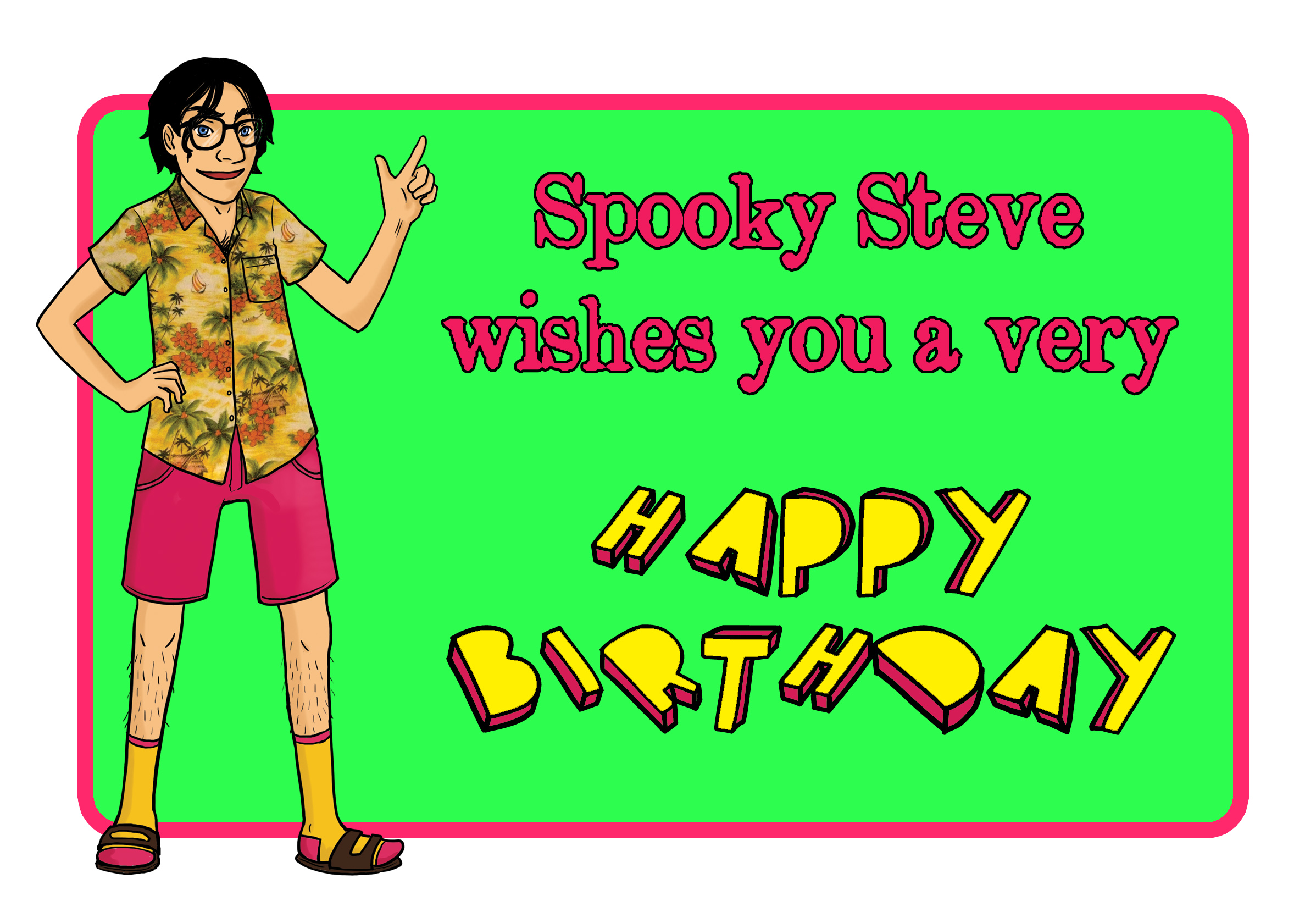 Spooky Steve